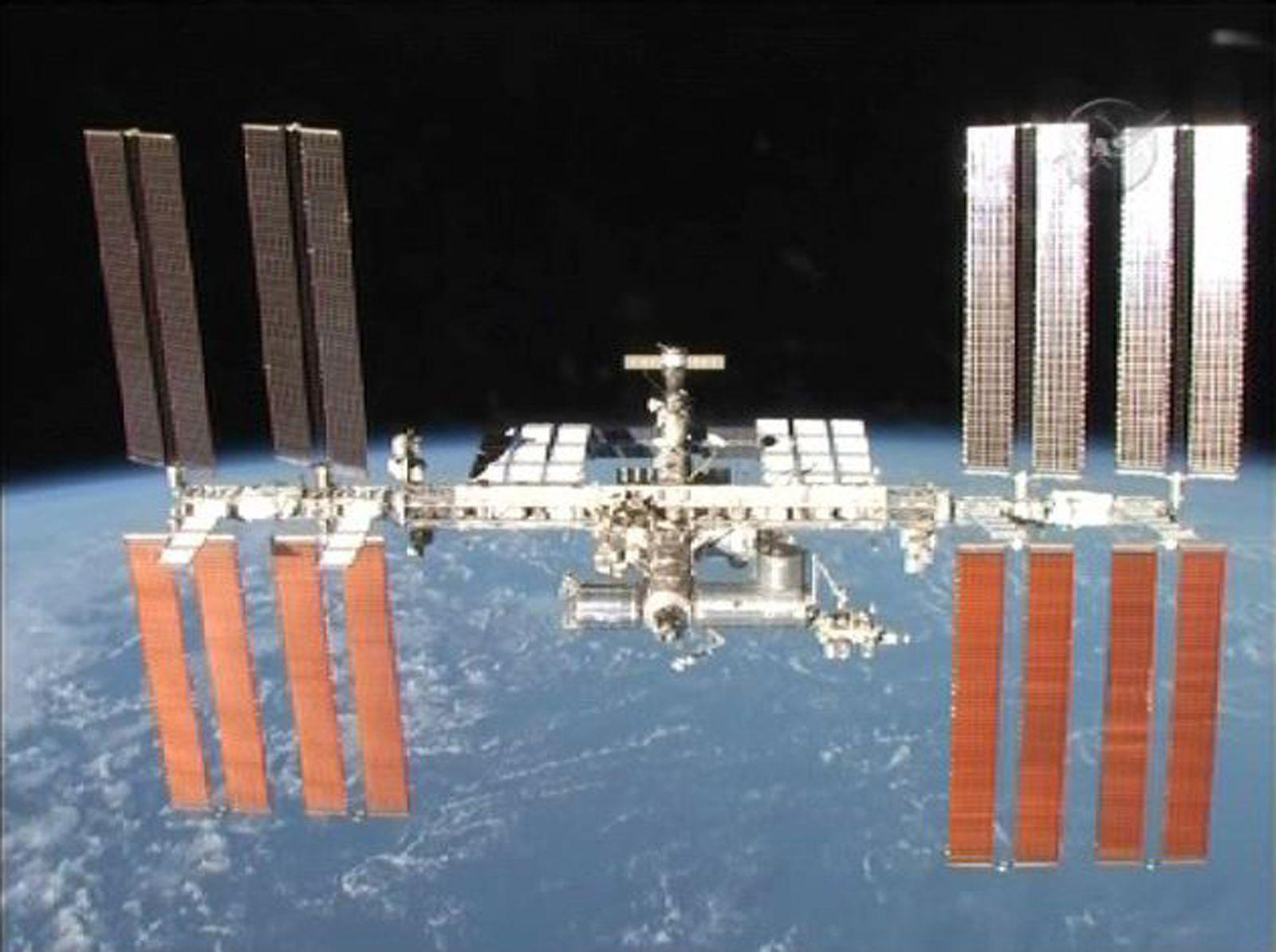 EINMALIGE VERWENDUNG Atlantis / NASA / ISS