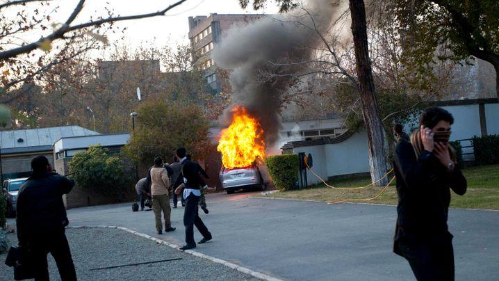 Botschaftsstürmung: Gewalt in Teheran