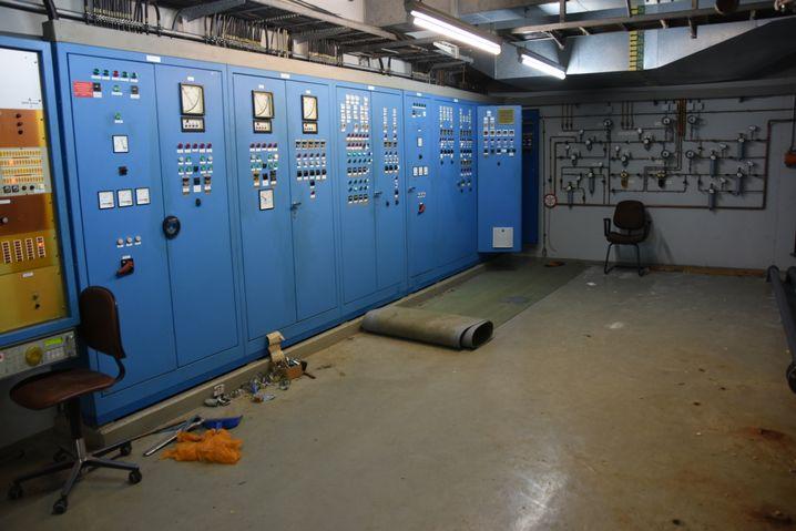 Polizei-Bild aus dem Bunker: Altbestände der Bundeswehr