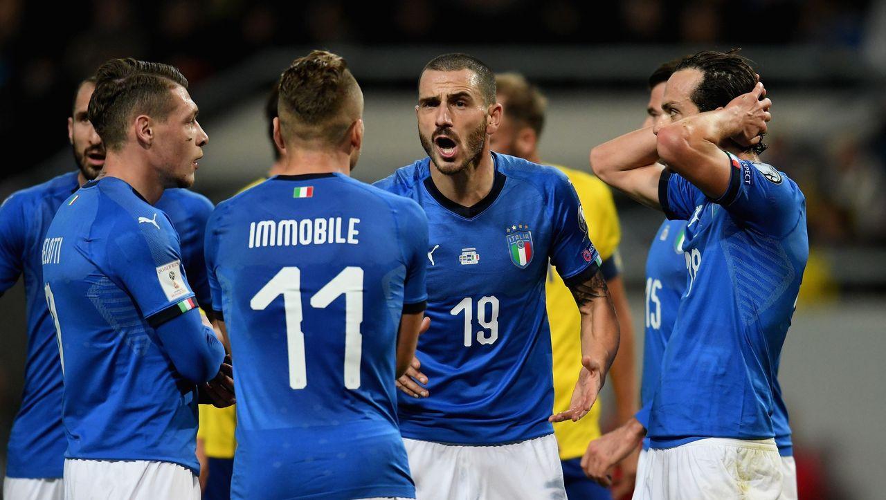 Italien Schweden Wm Quali