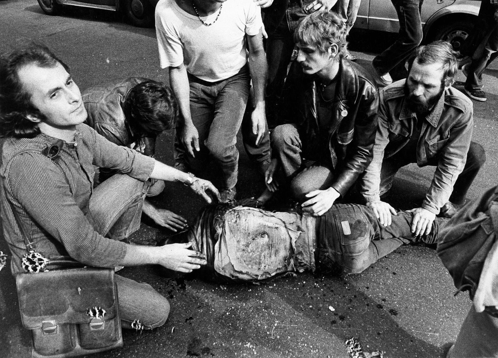 Hausbesetzungen Berlin, Demonstrant Klaus Jürgen Rattay tödlich verletzt