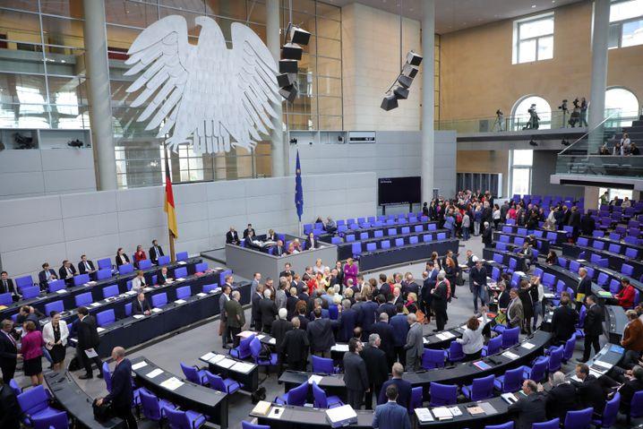 Bundestag, 17. Mai 2019: Die Abstimmung nach der Debatte über die BDS-Bewegung