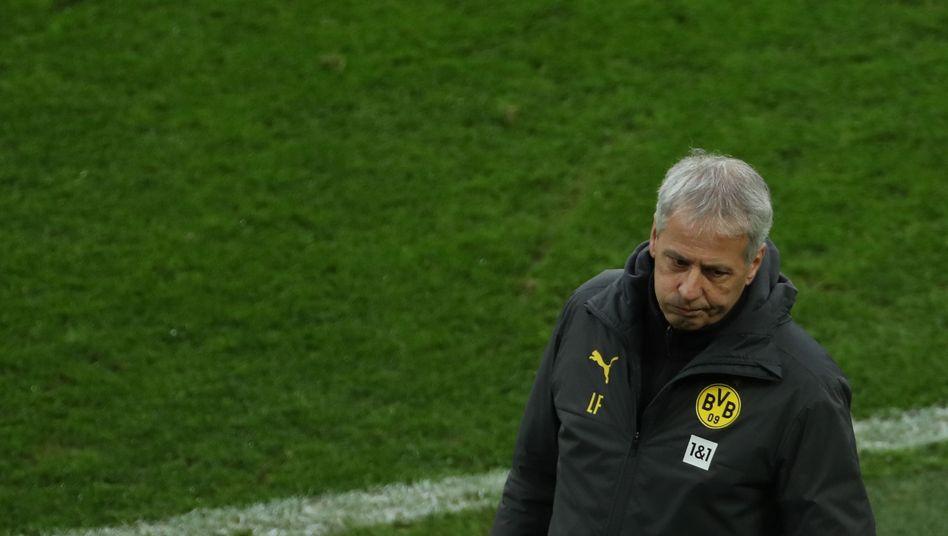 Ex-BVB-Trainer Favre: Seine Zeit in Dortmund ist vorbei