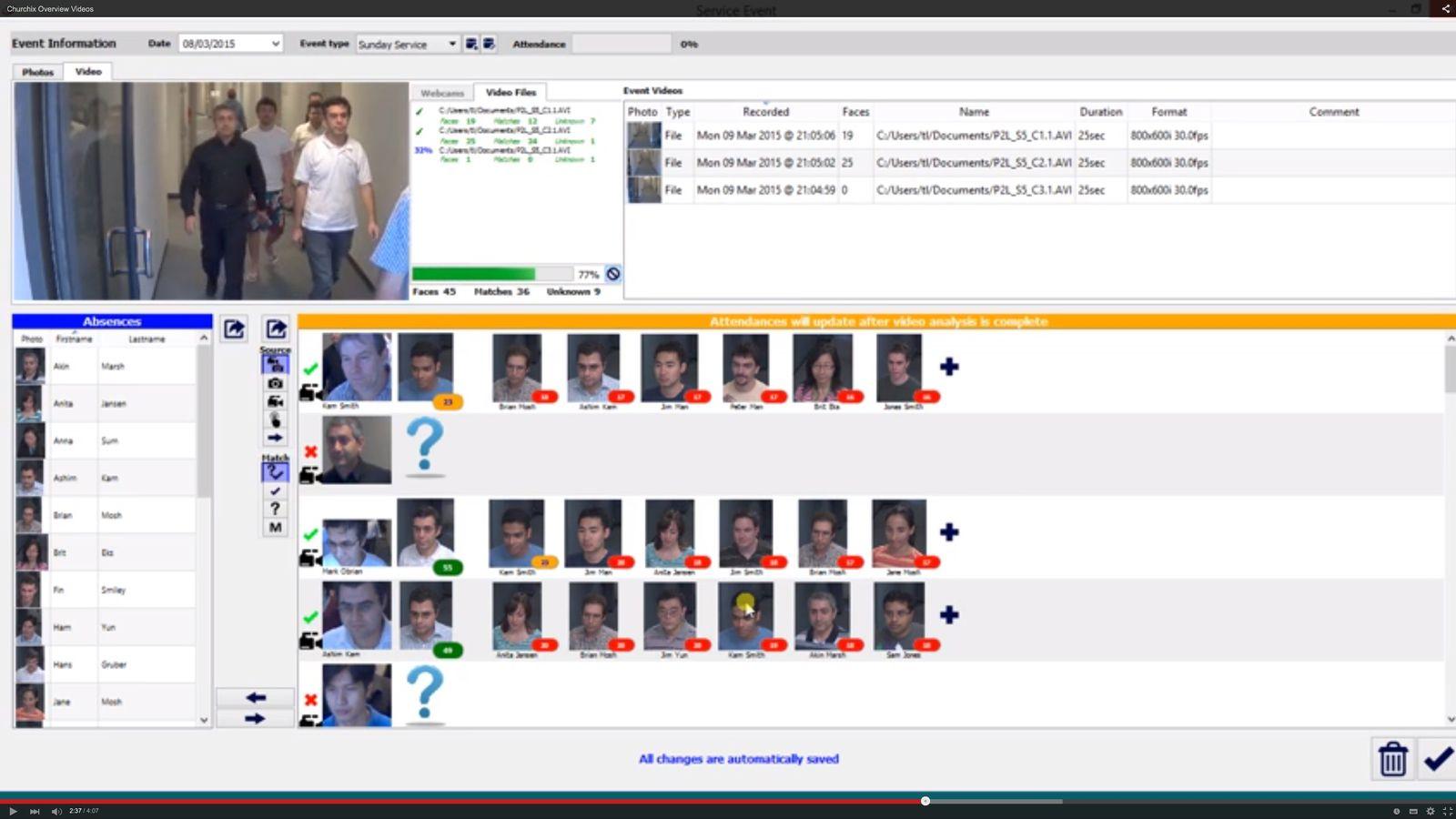 EINMALIGE VERWENDUNG NUR ALS ZITAT Screenshot/ Face-Six Gesichtserkennung