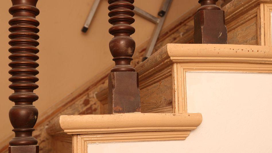 Treppenhausrenovierung(Symbolbild): Bauboom kommt zum Ende