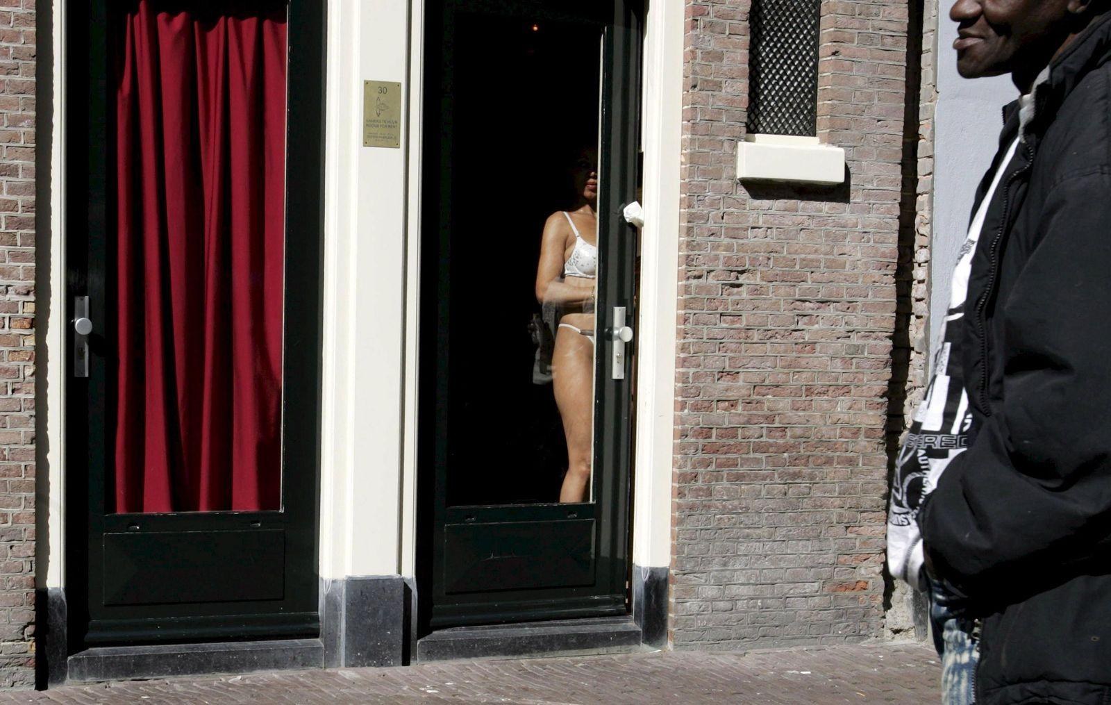 Strassenstrich amsterdam Prostitution in