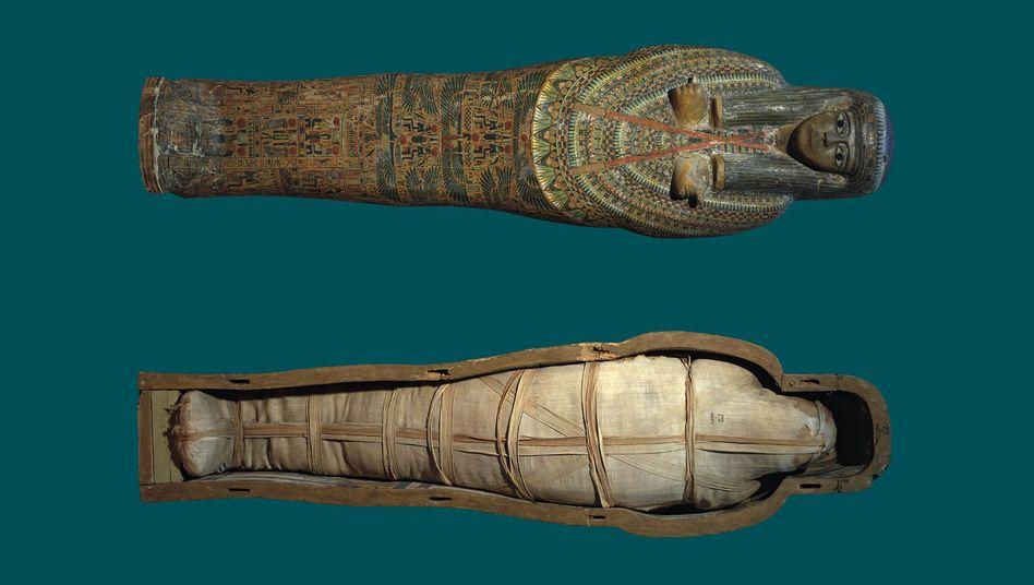 Mumien Im Alten ägypten
