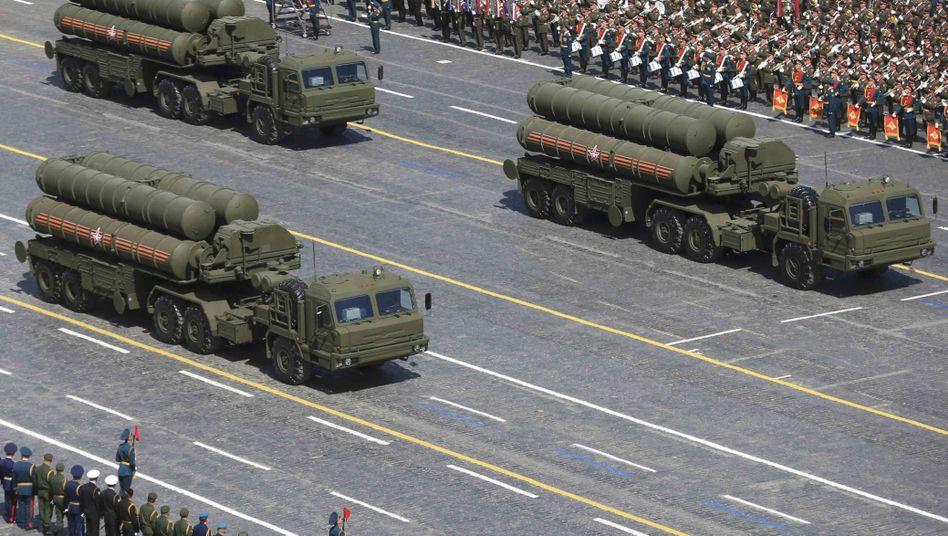Russische S-400-Abwehrraketen (Archivaufnahme)