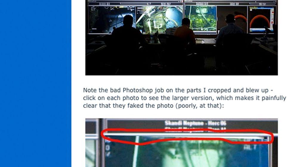 Fotostrecke: So schönt BP sein Krisenmanagement