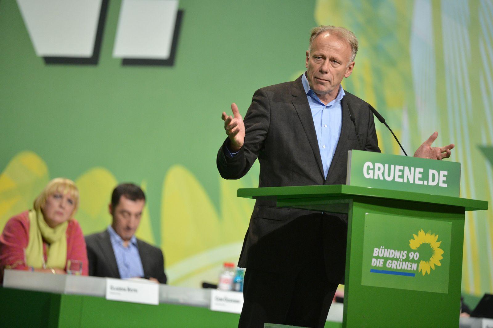 Bundesparteitag Grüne Trittin