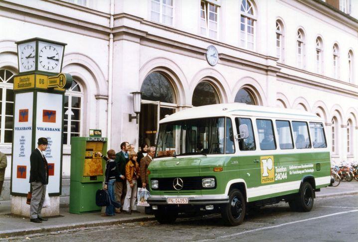 Rufbus in den Achtzigerjahren