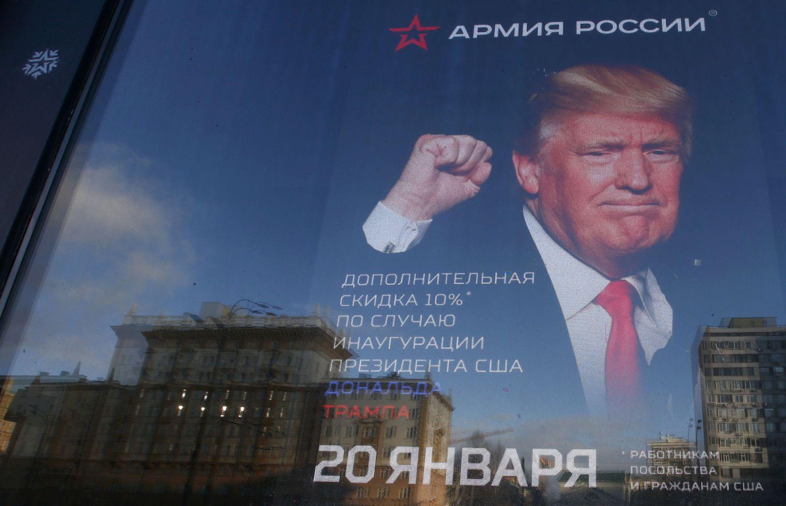Russland / Trump / Armeeposter