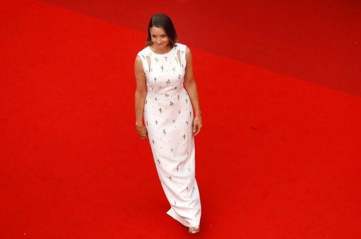 Schauspielerin Jodie Foster gestern bei der Eröffnungsfeier der Filmfestspiele in Cannes