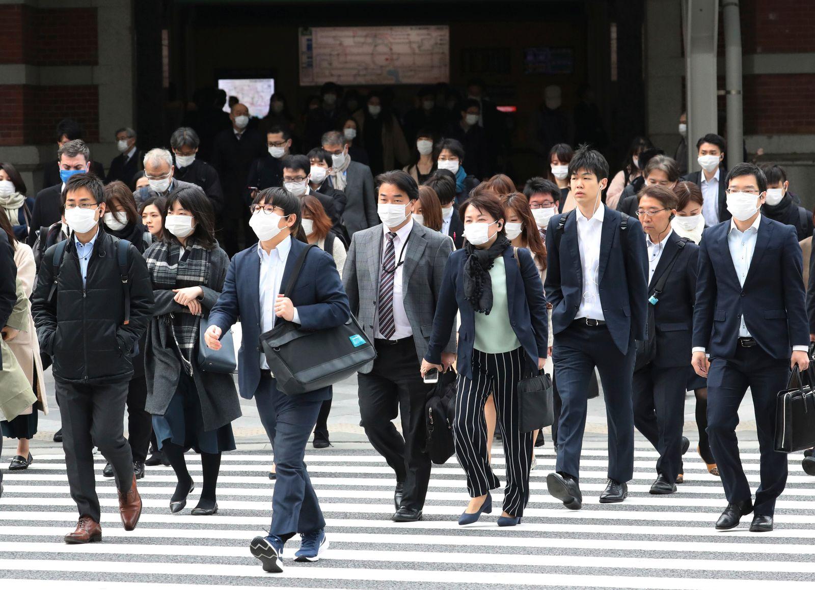Novel coronavirus outbreak / state of emergency in Japan