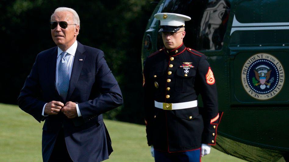 Joe Biden (am 13. Juli)