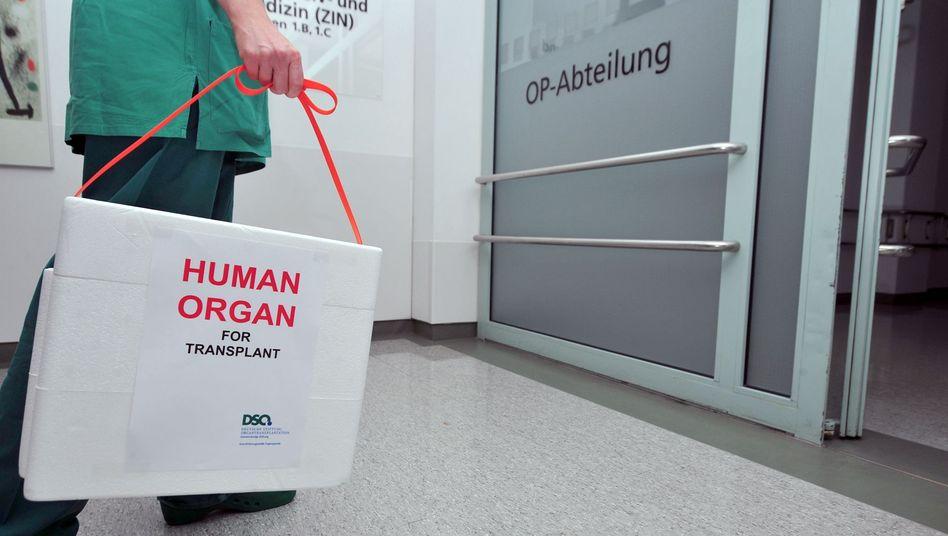 Organtransport: Wer entscheidet, welcher Patient die Spende bekommt?