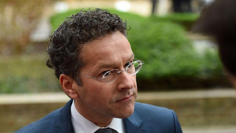 Er liebäugelt mit Kapitalkontrollen: Eurogruppenchef Jeroen Dijsselbloem