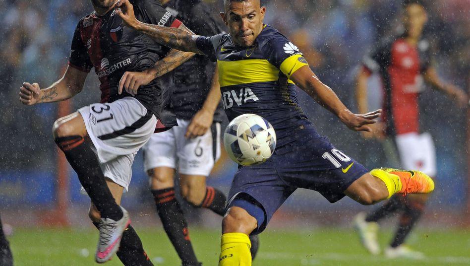 Argentiniens Stürmerstar Carlos Tévez
