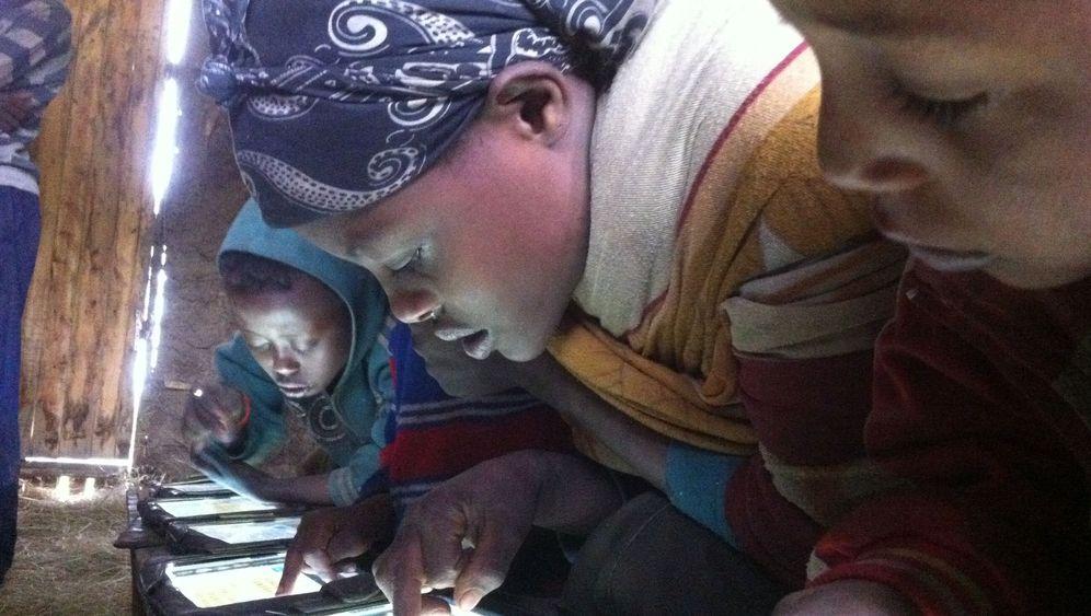 Lernprojekt in Äthiopien: Tablet statt Tafel
