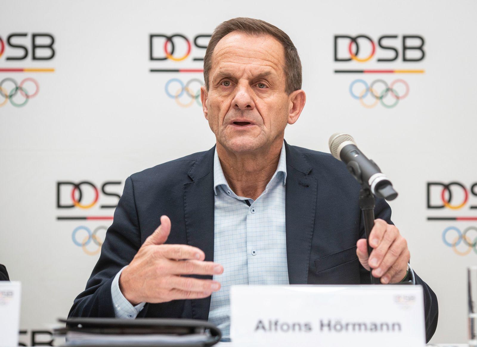 DOSB-PräsidentHörmann