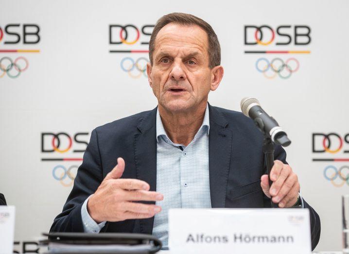 DOSB-Chef Alfons Hörmann hat derzeit hinter den Kulissen viel zu verhandeln