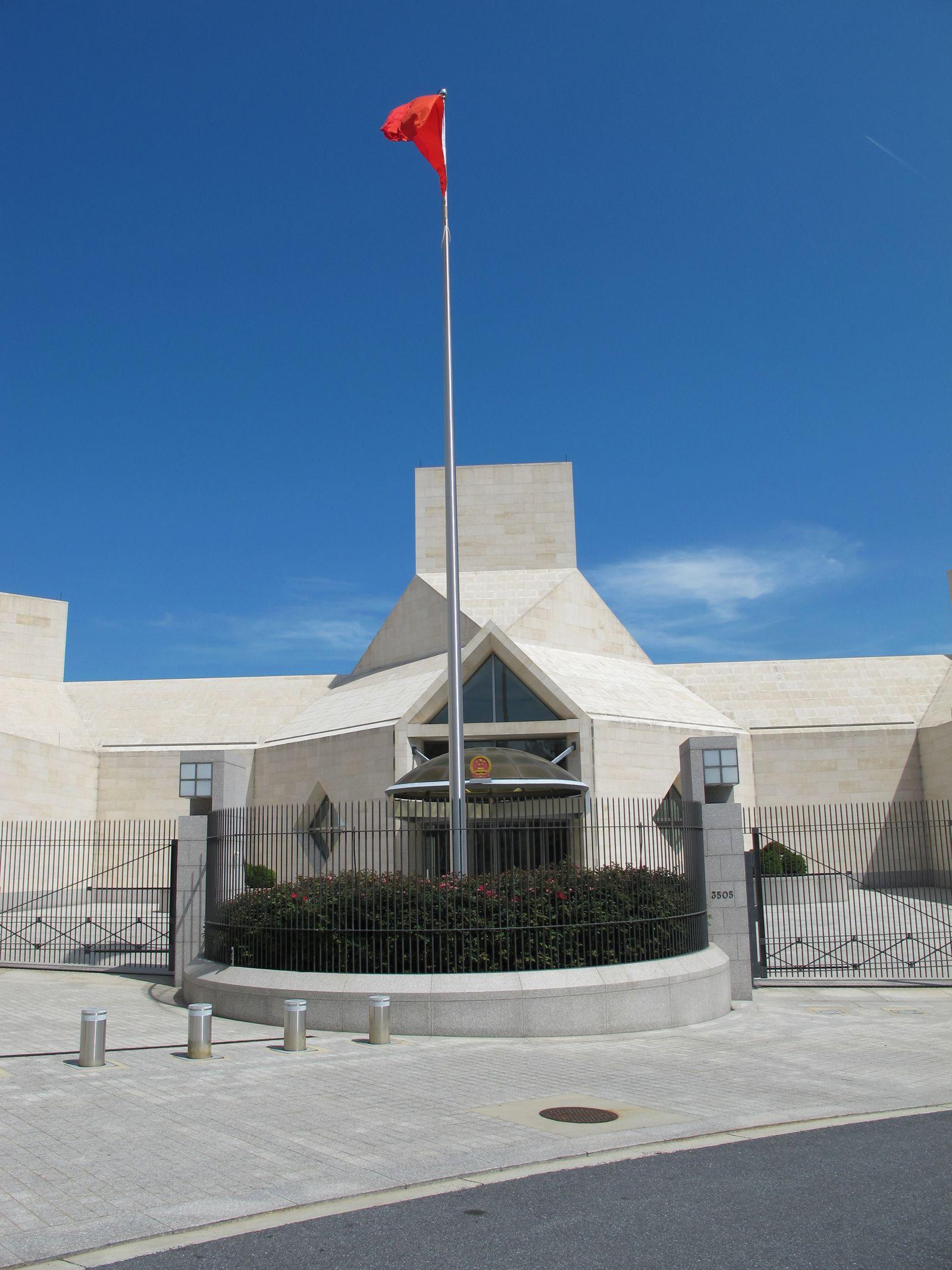 Chinesische Botschaft/ Washington