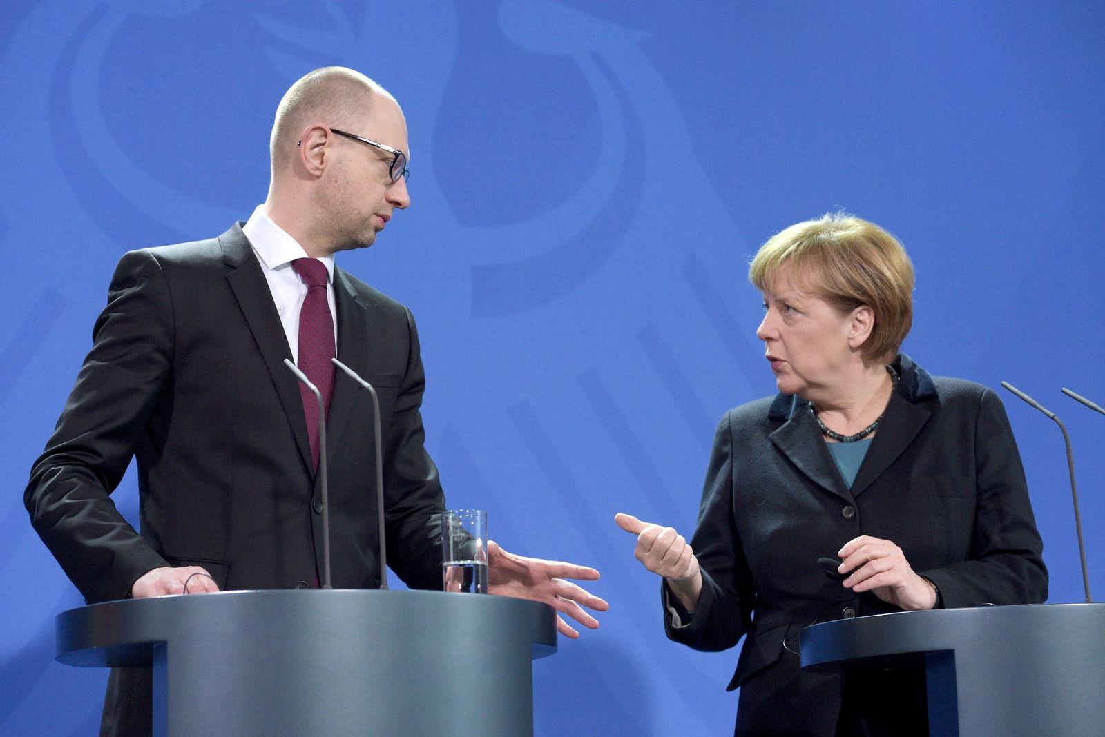 Merkel Jazenjuk