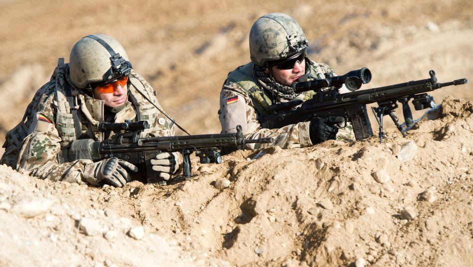 Bundeswehrsoldaten in Afghanistan (2013)