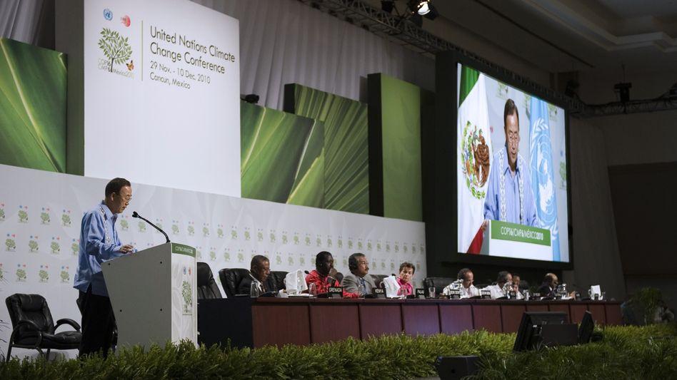 Uno-Generalsekretär Ban Ki Moon: Appell an die Unterhändler, dass Ergebnisse nötig sind