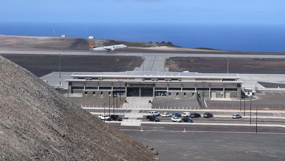 Flughafen auf St. Helena: Ein BER im Atlantik