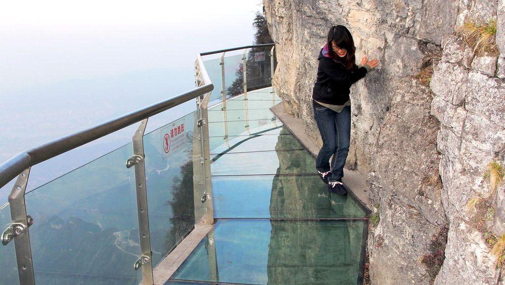 1400 Meter hoher Sky Walk: Wandeln überm Abgrund
