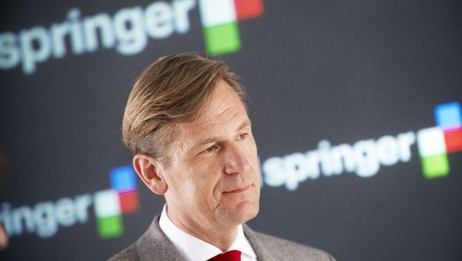 """Springer-Chef Mathias Döpfner: """"Wir verteidigen den Journalismus"""""""