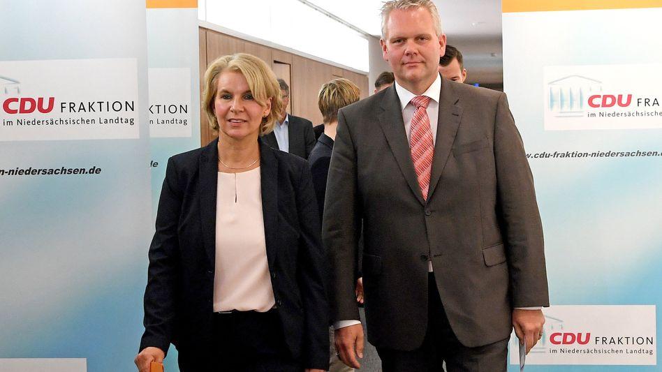Elke Twesten, bislang für die Grünen im Landtag von Niedersachsen