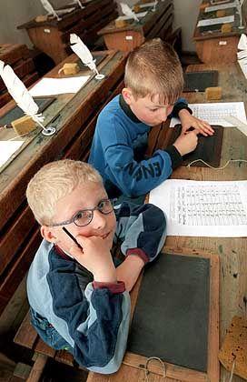 Klassenerster in der ersten Klasse