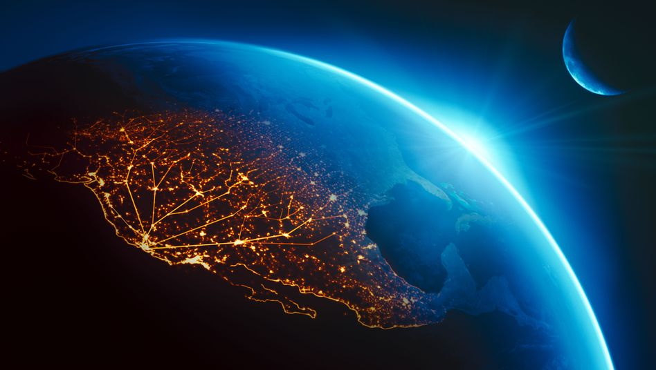 Draufsicht: Das Silicon Valley in Kalifornien, Heimat von Apple, Facebook und Co.