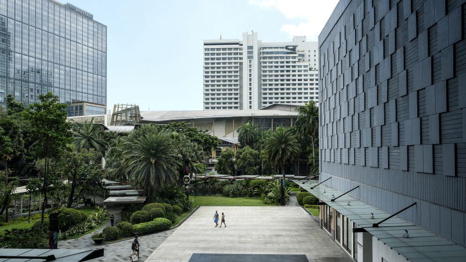 Geschäftsviertel in Makati City auf den Philippinen: Was geschah mit den 1,9 Milliarden Euro?