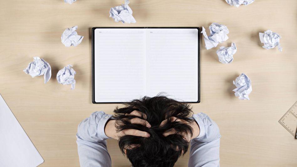 Viele Angestellte haben so viel zu tun, dass sie gar nicht wissen, wo sie anfangen sollen