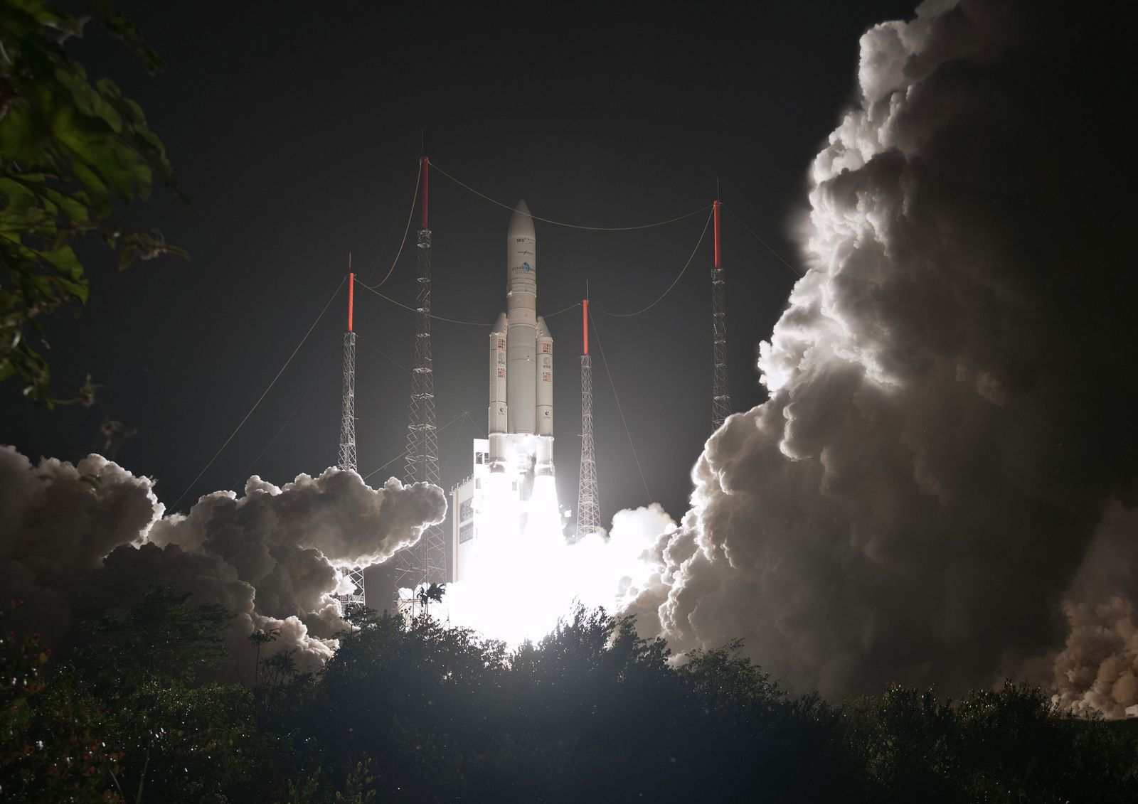 APTOPIX France Guiana Rocket Launch