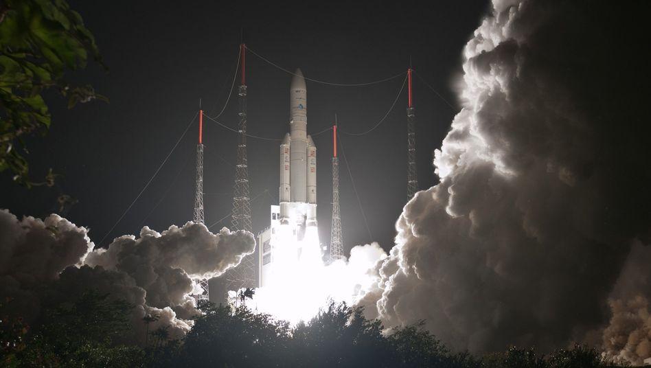 """Start einer """"Ariane"""" am Samstag: Deutschland und Frankreich streiten um die Zukunft der Rakete"""