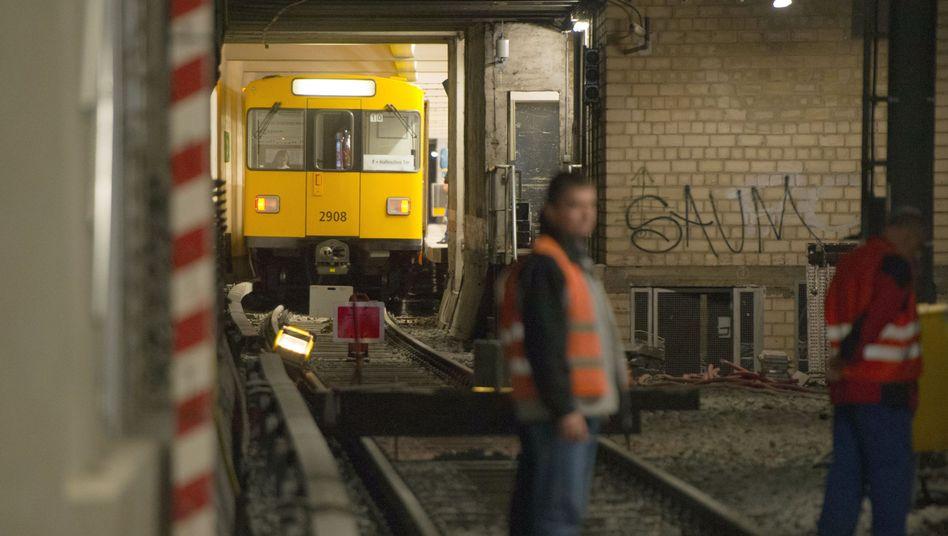 Berliner U-Bahn: Verlängerung der U5 soll 2019 abgeschlossen sein