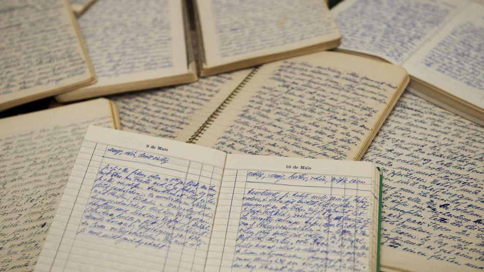 Tagebücher des KZ-Arztes Josef Mengele: Gedichte in blauer Schrift
