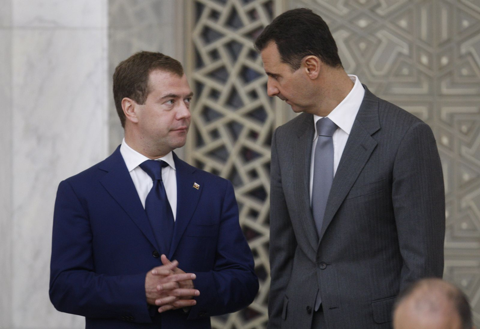Medwedew/ Assad