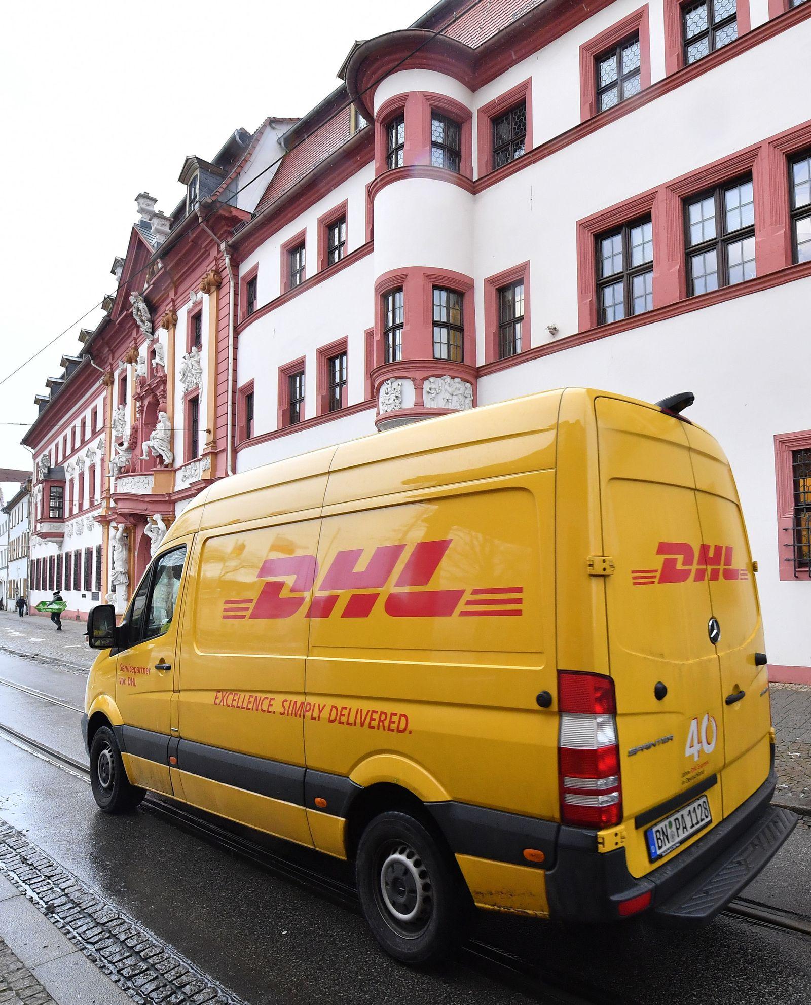 DHL / Erpressung / Erfurt