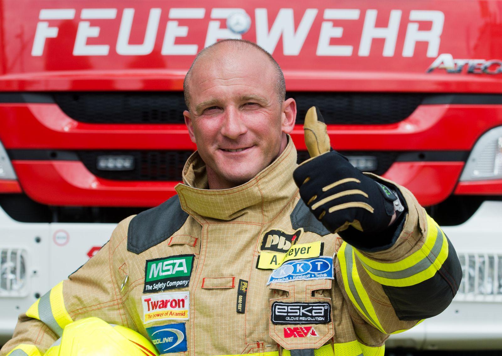 Wettkampf/ Der härteste Feuerwehrmann der Welt