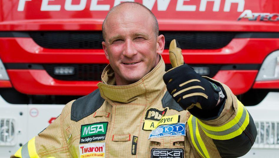 Feuerwehrmann aus Göttingen