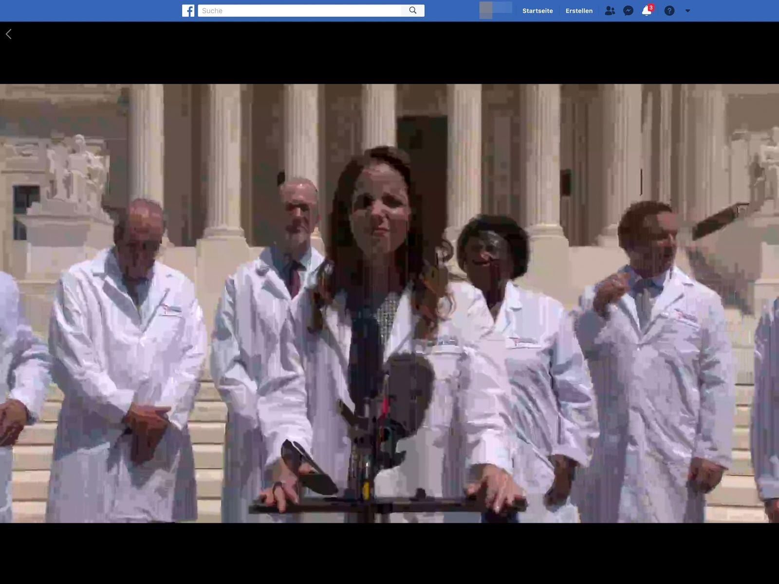 Press Conference - Americas Frontline Doctors SCREENSHOT