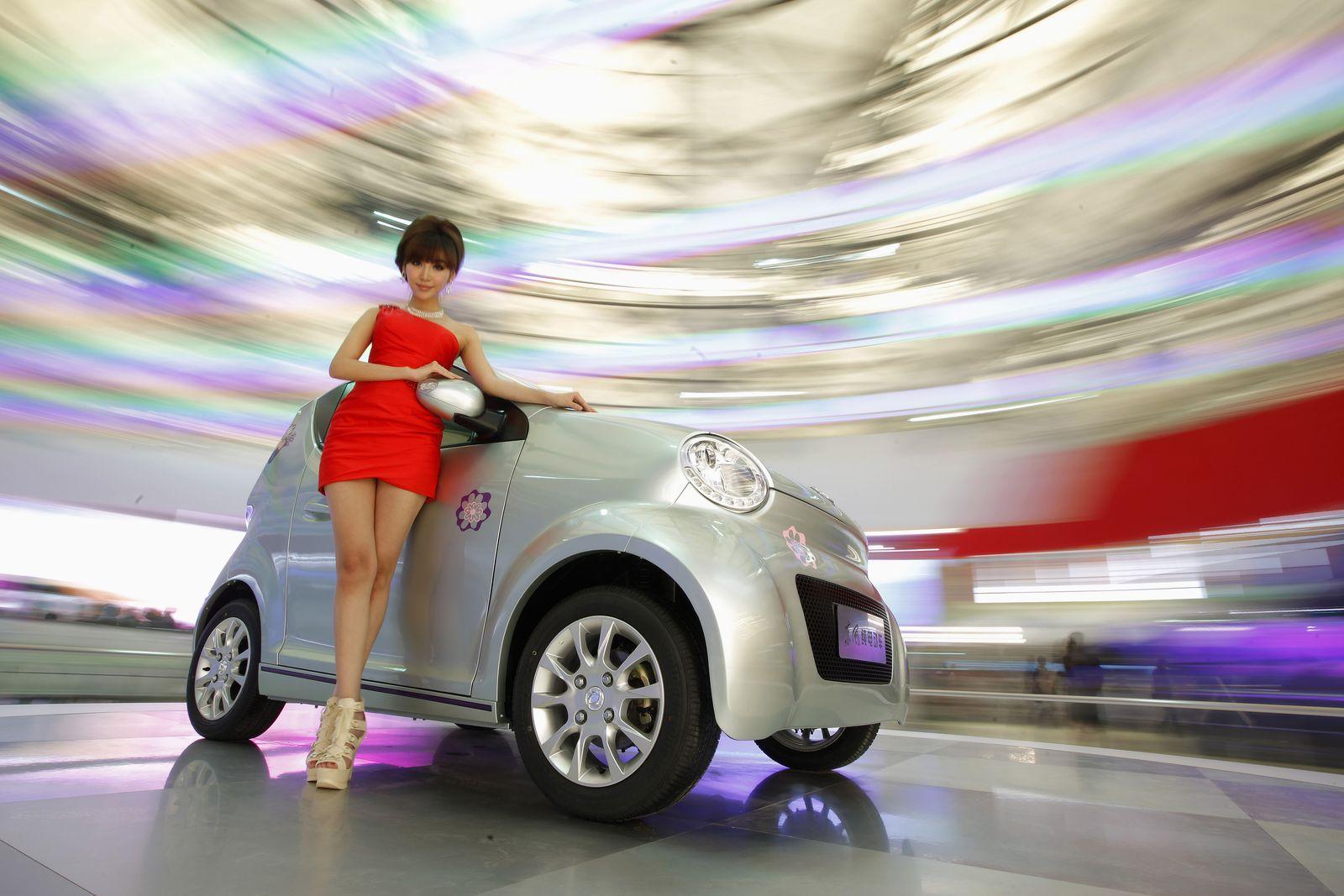 China / MIni Electric Vehicle / Elektroauto / Dongfeng EJ02