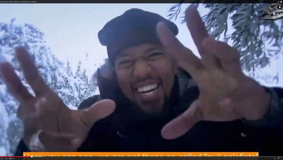 Dschihadist Cuspert in einem Propagandavideo: Abenteuer von der Front