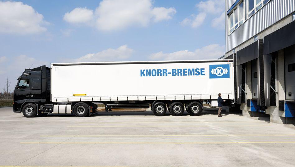 Lkw von Knorr-Bremse