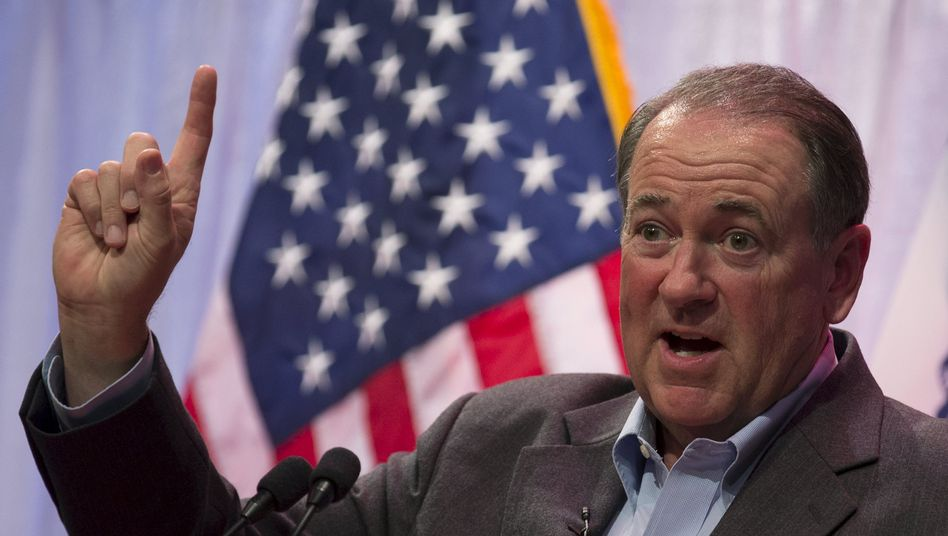 Kandidat Mike Huckabee: Noch ein Anwärter bei den Republikanern